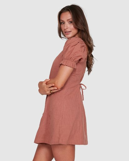 2 Chloe Dress Brown 6503473 Billabong