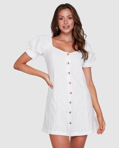 1 Chloe Dress White 6503473 Billabong