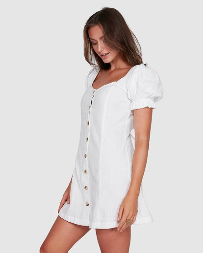 2 Chloe Dress White 6503473 Billabong