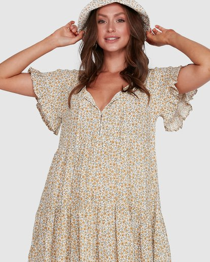 4 Summer Dress Beige 6503474 Billabong