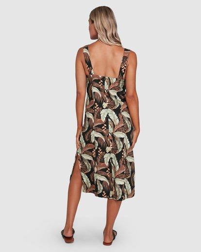 3 El Tropical Midi Dress Black 6503475 Billabong