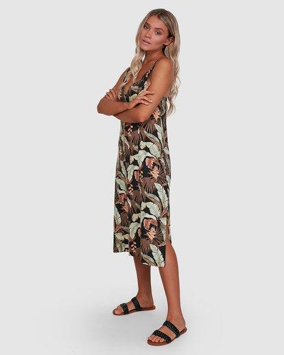 2 El Tropical Midi Dress Black 6503475 Billabong