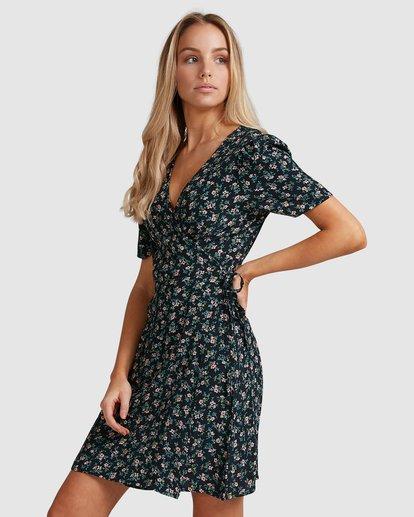 3 Bloom Wrap Dress Black 6503479 Billabong