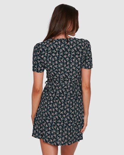 9 Bloom Wrap Dress Black 6503479 Billabong