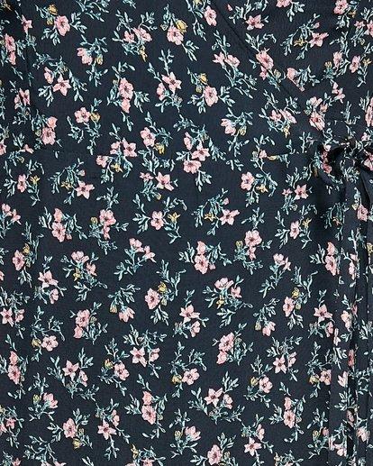 11 Bloom Wrap Dress Black 6503479 Billabong
