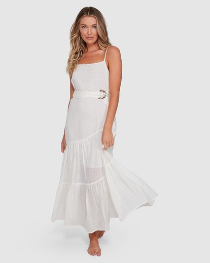1 Island Spirit Dress White 6503483 Billabong