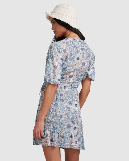 3 Dream Daze Wrap Dress Blue 6503493 Billabong