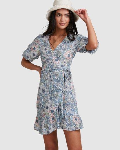 0 Dream Daze Wrap Dress Blue 6503493 Billabong