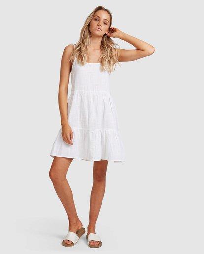 5 Bluebell Crosshatch Dress White 6503495 Billabong