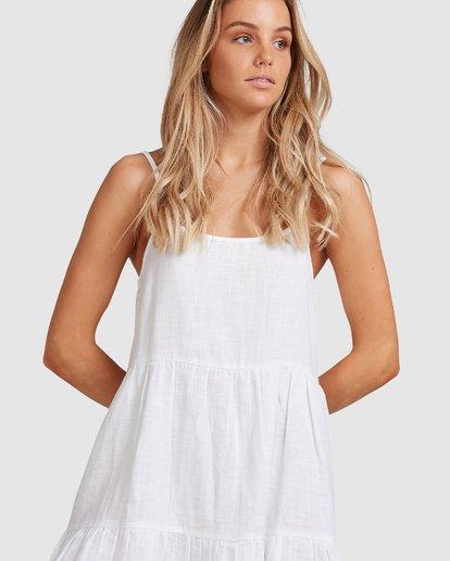 4 Bluebell Crosshatch Dress White 6503495 Billabong