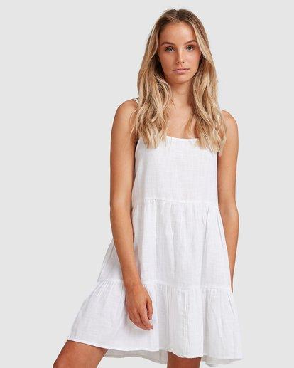 0 Bluebell Crosshatch Dress White 6503495 Billabong