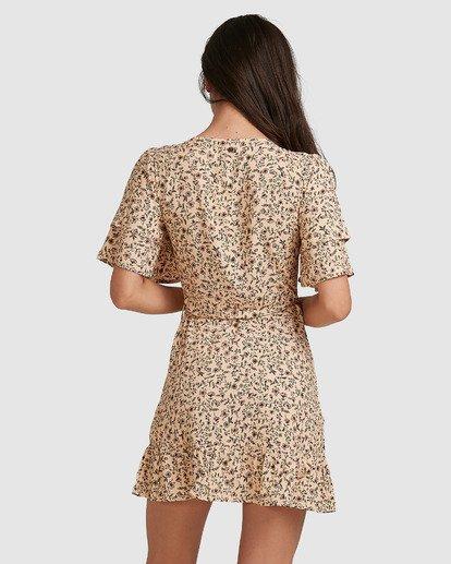 2 Charmer Wrap Dress Beige 6503497 Billabong