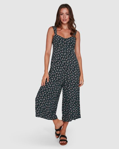 7 Bloom Jumpsuit Black 6503521 Billabong