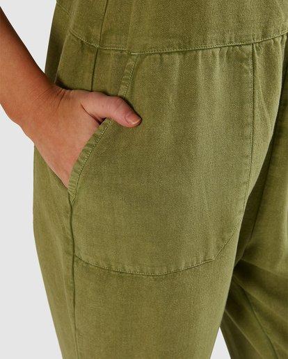 4 Pepper Jumpsuit Green 6503522 Billabong