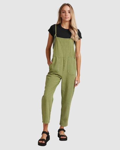 1 Pepper Jumpsuit Green 6503522 Billabong