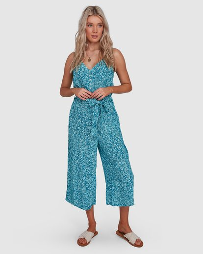 5 Arabella Jumpsuit Green 6503526 Billabong