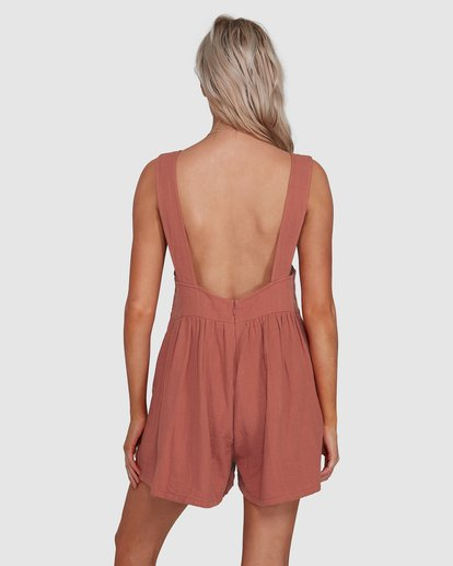 2 Cabo Jumpsuit Brown 6503528 Billabong