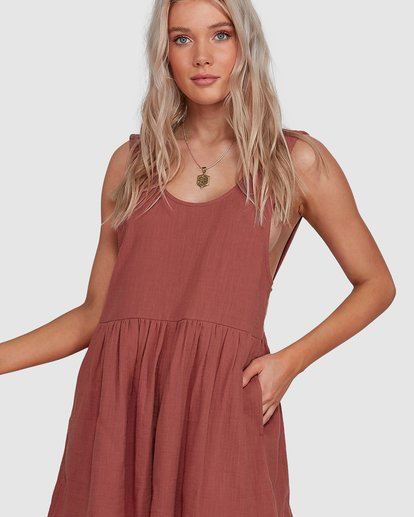 3 Cabo Jumpsuit Brown 6503528 Billabong