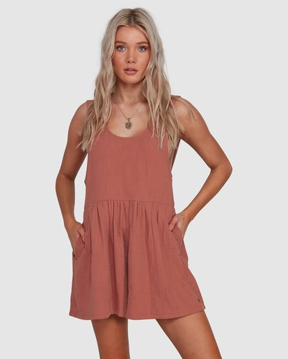 0 Cabo Jumpsuit Brown 6503528 Billabong