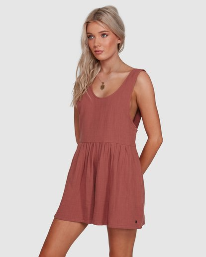 1 Cabo Jumpsuit Brown 6503528 Billabong