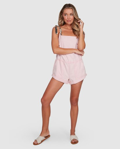 4 Salt Jumpsuit Pink 6503535 Billabong