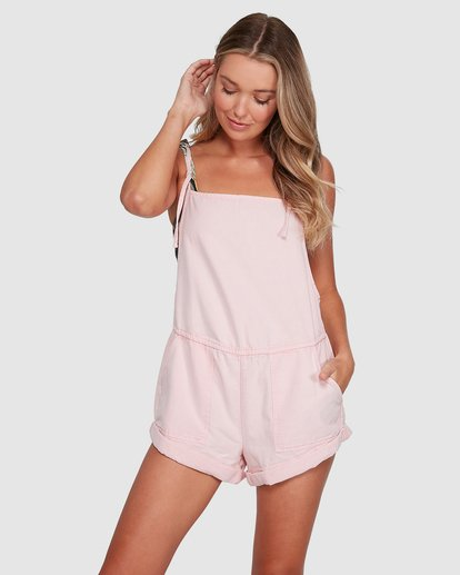 1 Salt Jumpsuit Pink 6503535 Billabong