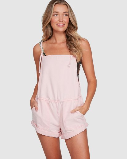 0 Salt Jumpsuit Pink 6503535 Billabong