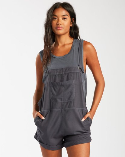 0 Wild Pursuit Jumpsuit Black 6503544 Billabong