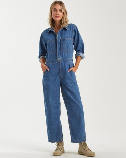 0 Endless Days Jumpsuit Blue 6503545 Billabong