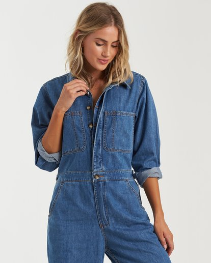 1 Endless Days Jumpsuit Blue 6503545 Billabong