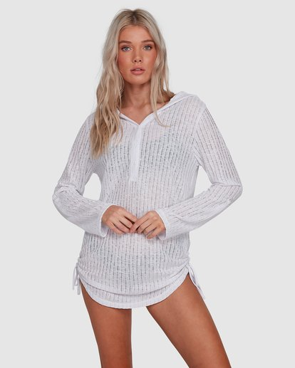 1 Lovechild Cover Up White 6503625 Billabong