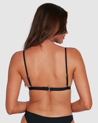 2 Sol Searcher Hi Point Tri Bikini Top Black 6503701 Billabong