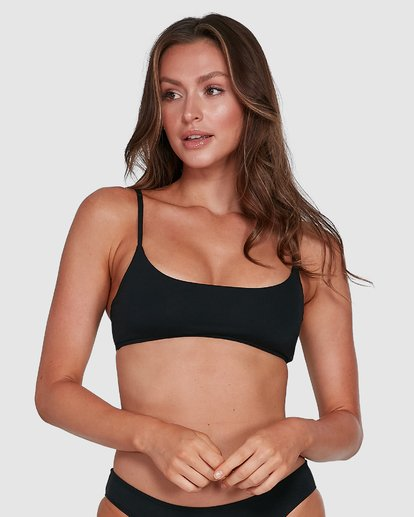 1 Sol Searcher Bralette Bikini Top Black 6503702 Billabong