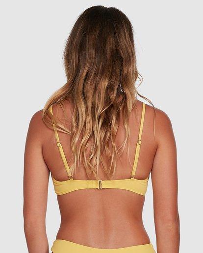 2 Sol Searcher Bralette Bikini Top Yellow 6503702 Billabong