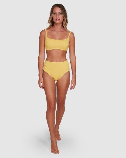 8 Sol Searcher Mia D/DD Bralette Bikini Top Yellow 6503703 Billabong