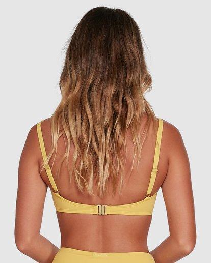 2 Sol Searcher Mia D/DD Bralette Bikini Top Yellow 6503703 Billabong