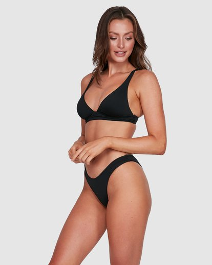 10 Sol Searcher Elongated Tri Bikini Top Black 6503704 Billabong