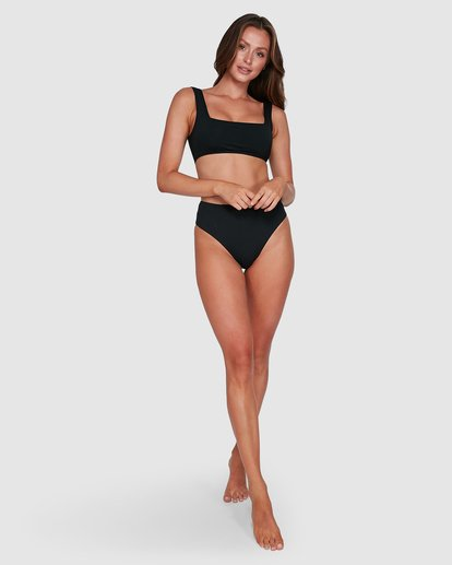 9 Sol Searcher Hi Maui Bikini Bottoms Black 6503712 Billabong