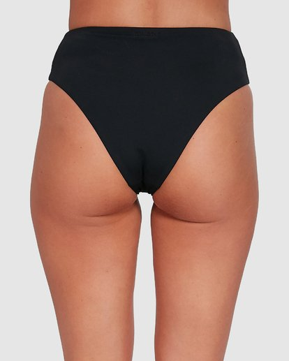 4 Sol Searcher Hi Maui Bikini Bottoms Black 6503712 Billabong