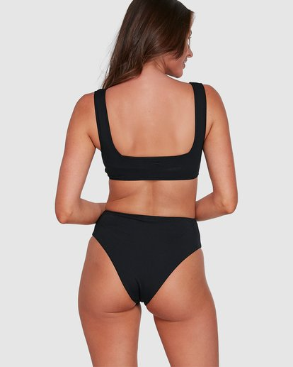 6 Sol Searcher Hi Maui Bikini Bottoms Black 6503712 Billabong