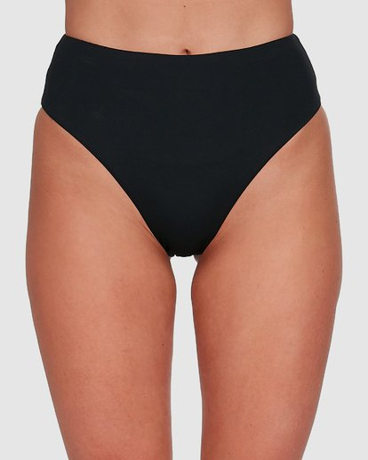 3 Sol Searcher Hi Maui Bikini Bottoms Black 6503712 Billabong