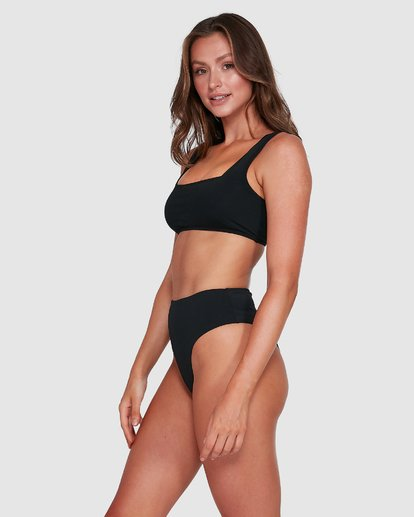 2 Sol Searcher Hi Maui Bikini Bottoms Black 6503712 Billabong