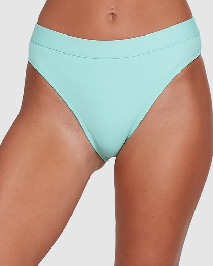 3 Sol Searcher Maui Rider Bikini Bottoms Blue 6503713 Billabong