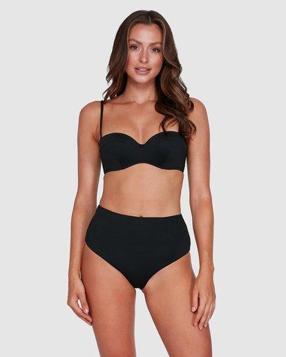 1 Sol Searcher Hi Retro Bikini Bottoms Black 6503714 Billabong