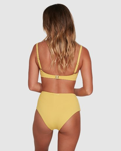 0 Sol Searcher Hi Retro Bikini Bottoms Yellow 6503714 Billabong