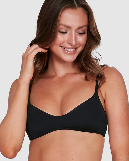 6 Sol Searcher V Bralette Bikini Top Black 6503715 Billabong