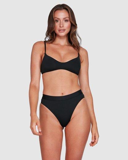 3 Sol Searcher V Bralette Bikini Top Black 6503715 Billabong
