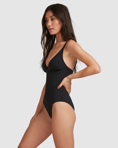 2 Sol Searcher Plunge Lowrider Onepice Black 6503718 Billabong