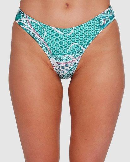 3 Secret Garden Bondi Bikini Bottoms Green 6503726 Billabong