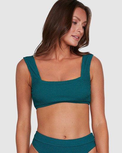 1 Summer High Zoe Tank Bikini Top Green 6503739 Billabong